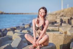DSC_8974 (tingyangke) Tags: glamour beach bikini 人像攝影 人像 寫真 d750 85mm 定焦 海邊 外拍 台灣 彰濱 taiwan 比基尼