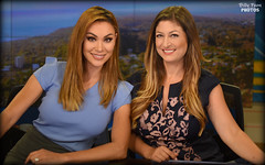 Alicia Summers & Neda Iranpour (billypoonphotos) Tags: 35mm iranpour neda san diego reno sacramento weather weathercaster anchor bio billypoon billypoonphotos media broadcaster broadcasting news feature reporter picture tv television facebook twitter instagram nikon nikkor lens mm portrait photography photographer pretty lady woman female d5500 francisco california kpix kpix5 cbs 8 alicia summers studio ladies women yuma fresno arizona raiderette