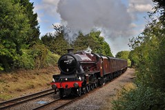 Merchant of Avon - Week 3 (Martin Creese) Tags: shirley northwarwicksline 45699 galatea stanier jubilee west coast railway company wcrc nikon d90 september 2019