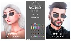 BONDI . The Bandit (Manu Wrydan (BONDI owner)) Tags: bondi accesory glasses eyewear cosmopolitan new release event secondlife sl mesh original formal men suits style woman