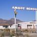 school zone / route 66. amboy, ca. 1999.