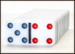 Macro Mondays - Nine - Dominos (zendt66) Tags: zendt66 zendt nikon d7200 nikkor 60mm macromondays nine hdr photomatix