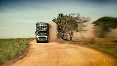 Volvo 133 - 1 (Enio Godoy - www.picturecumlux.com.br) Tags: 16x9 sonyalpha niksoftware viveza2 analogefexpro2movement2 sky texture truck sony dust sony04 agudossp mamiya80mm28 sonyalpha6300