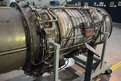 SAC_0093 General Electric J-73 turbojet engine (kurtsj00) Tags: sac museum strategic air command