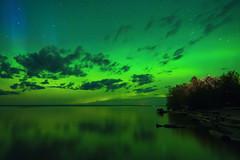 Aurora on! (Len Langevin) Tags: auroraborealis northernlights slavelake kinuso alberta canada nature nikon d7100 tokina 1116