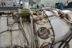 SAC_0092 General Electric J-73 turbojet engine (kurtsj00) Tags: sac museum strategic air command