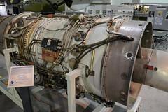 SAC_0091 General Electric J-73 turbojet engine (kurtsj00) Tags: sac museum strategic air command