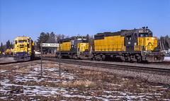 Recently Re-employed (Cdr. McBragg) Tags: 5400 815 832 atsf gp30 gp35 sd45 wc