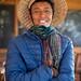Potato Farmer in Dieng Indonesia