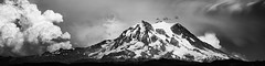 Let It Be (TroyMasonPhotography) Tags: piercecounty blackandwhite clouds dramatic glacier landscape longmire mountrainier mountain pacificnorthwest panorama paradise peak puyallup snow summit tanwaxcountrychapel washington weather pacifi nationalpark moody storm rain wind seattle tacoma mountainclimbing vacation travel