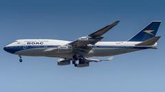 G-BYGC (gankp) Tags: gbygc boacretro britishairways boeing 747436 washingtondullesinternationalairport dulles international arrivals