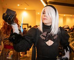 2B (Courtarro) Tags: 2b atlanta dragoncon dragoncon2019 marriottmarquis nierautomata yorhano2typeb building cosplay event game hotel videogame