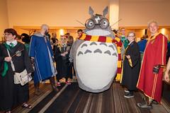 Harry Potter Totoro (Courtarro) Tags: atlanta dragoncon dragoncon2019 harrypotter marriottmarquis myneighbortotoro totoro book building cosplay event film hotel