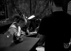 Origin Photo 1.7 (grey fish) Tags: tattoo origin die right studios black white eric goodman greyfish