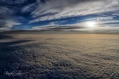 New horizons (marko.erman) Tags: sky aerial clouds horizon flying plane sony newhorizon pov throughthewindow travel sunrise