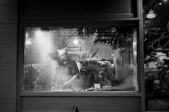 Grilling (SebRiv) Tags: bnw blackandwhite filmisnotdead filmisalive noiretblanc monochrome kodaktmax400 contaxt2