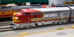 the classic pan shot (contemplative imaging) Tags: 2019 20190105 43 citrn20190105ep5 ep5 ho january kanecountymodelrailroadclub olympus renaissance saturday schaumburg center contemplativeimaging convention diesel digital emd f7 f7a fun greatest hobby hood indoors layout locomotive model modelrailroads motion moving pan passenger photo photography photos power railroad railroads railway railways red ronzack santafe scale shot show silver toys train trainshow trains unit warbonnet winter 9x16 citrn20190105ep5152