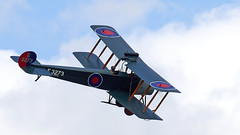 Avro 504K (Bernie Condon) Tags: avro avro504 trainer raf military vintage preserved 1920s royalairforce aircraft flying display aviation oldwarden shuttleworth shuttleworthcollection uk british collection airfield airshow plane june june2019 festivalofflight