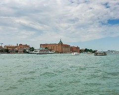 The building in the center is Molino Stucky situated on Giudecca Island. The name of the building comes from its founder: Giovanni Stucky. It was built between 1884 and 1895 in a neo-gothic style. At first it was a flour mill, sometime later a pasta facto (pinus.acer) Tags: the building center is molino stucky situated giudecca island name comes from its founder giovanni it was built between 1884 1895 neogothic style at first flour mill sometime later pasta factory now hilton chain hotel europe italy italia veneto venezia venice venise