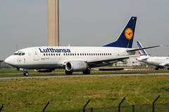 D-ABII (PlanePixNase) Tags: aircraft airport planespotting paris cdg lfpg charlesdegaulle roissy lufthansa 737 737500 b735 boeing
