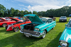melhashriners2019-14 (gtxjimmy) Tags: sonya7ii sony alpha a7ii massachusetts newengland summer mooselodge shriners melhashriners 39thannualmelhashrinerscarshow carshow autoshow autorama auto automobile car vehicle classic vintage antique muscle chicopee 1958 chevy chevrolet belair