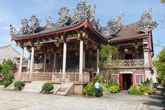 Khoo Kongsi Chinese (Hokkien)  clanhouse (rebuilt in 1906) (sandorson) Tags: penang pinang pulaupinang malaysia malajzia khookongsi georgetown hokkien clanhouse temple straitschinese