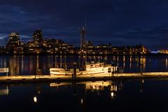 DSCF4697 (FNshutter) Tags: fujifilmx100f x100f boat water harbour victoria bc dusk lights dark city buildings dock