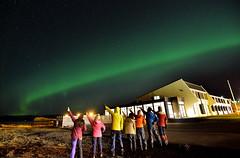 極光合影 (Sophie-Lin) Tags: iceland aurora