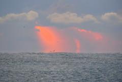 IMG_0012x (gzammarchi) Tags: italia paesaggio natura mare ravenna lidoadriano alba riflesso nuvola