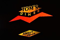 It is always nice to see you... (slammerking) Tags: tomsdiner diner denvercolorado colfax night 24hours restaurant