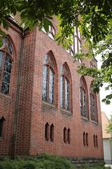Flensburg: Evangelische Kirche St. Jürgen in Jürgensby (Helgoland01) Tags: flensburg schleswigholstein deutschland germany kirche church gründerzeit gotik gothic fassade faca