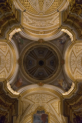 Roma - chiesa Sant'Antonio dei Portoghesi (olivierurban) Tags: rome roma church chiesa eglise italie italy italia sony zeiss ceiling plafond