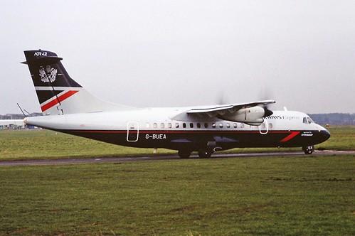 G-BUEA ATR42 British airways CVT 01-02-95