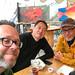 Matt, Fred, and Joel in Juneau, AK
