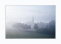 IMG_2035 (fot_oKraM) Tags: kirche church nebel fog dusk morgengrauen nrw muensterland westfalen