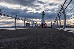 DSCF4671 (FNshutter) Tags: fujifilmx100f x100f pier lighthouse sky clouds light color dusk