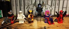 Uncanny X-Force (Doctor Allo) Tags: lego marvel xmen uncanny xforce deathlok fantomex wolverine archangel psylocke deadpool