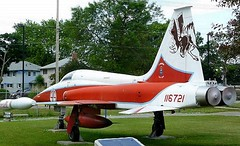 """Canadair CF-116 F5 Freedom Fighter 3 • <a style=""""font-size:0.8em;"""" href=""""http://www.flickr.com/photos/81723459@N04/48704140826/"""" target=""""_blank"""">View on Flickr</a>"""