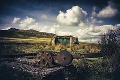 Target Railway - Rowtor, Dartmoor (Glavind Strachan Photography) Tags: targetrailway railway firingrange okehamptonfiringrange dartmoor okehampton devon rowtor landscape railwaytracks narrowguage