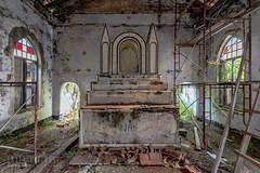 Colonial church-0625 (Under The Dust) Tags: abandoned church urbex malaysia catholic