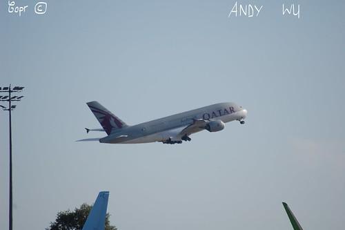 Airbus A380 Qatar Airways (07/29/2019)