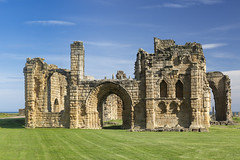 Tynemouth Priory (Cranswick852) Tags: tynemouth priory tynemouthpriory ruin masonry northumberland gateway arch architecture canon canon5d canon5dmk3 canon5dmkiii ef2470mmf28liiusm
