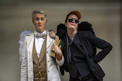 Invasion Colchester 2019 III (Lee Nichols) Tags: invasioncolchester2019 invasioncolchester cosplay cosplayers canoneos600d costume costumes cameraraw photoshop goodomens aziraphale crowley