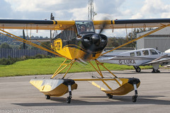 G-ODIP - 2015 build Aviat A-1C-180 Husky, Hawarden resident (egcc) Tags: 3247 a1c a1c180 aviat broughton ceg chester egnr floatplane floats godip hawarden husky lightroom n47hu whyte