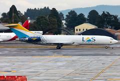 HK-4636 LAS B727 (twomphotos) Tags: skbo bog plane spotting boeing b727 b727f lineas aeras suramericans freight cargo taxi tow morning bestofspotting