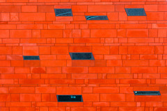 a short story about windows full of cobblestones (ignacy50.pl) Tags: minimal minimalism abstract wall architecture building outdoor colorful lines facade