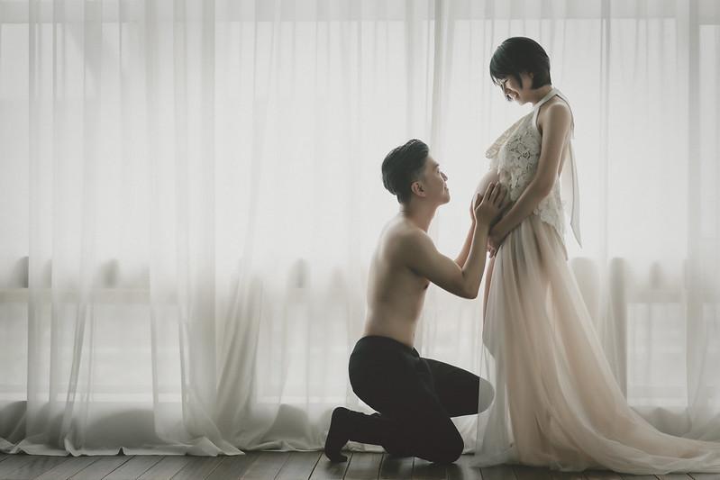 |孕婦寫真|筱瑜 法鬥攝影棚