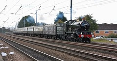 Clun Castle (paul_braybrook) Tags: 7029 cluncastle gwrcastleclass steamlocomotive copmanthorpe york northyorkshire vintagetrains tyseley charter railtour railway trains