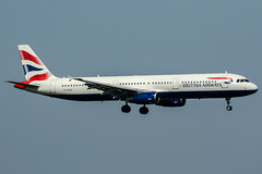 G-EUXG (PlanePixNase) Tags: london heathrow lhr egll planespotting airport aircraft british britishairways airbus 321 a321