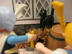 The Witch Cat IX (raaen99) Tags: thewitchcat witchcat witchofsutton suttonwitch englishfolktale britishfolktale folktale english british englishfairytale englishfaerietale folklaw englishfolklaw fairytale contedefées märchen kinderundhausmärchen fiaba sprookje children child toy toys playmobil faerietale childrensstory nursery nurserytale childhood childrenstoys tableau plastic plastictoy cat witch 巫婆 sorcière sorciere enchanteresse hexe heks strega gatta katze chatte chat gatto kat sutton suttonvillage winthorpe winthorpevillage legend englishlegend britishlegend family husband wife weaver boy girl man woman playmobil3838 playmobilwitch playmobilwitch3838